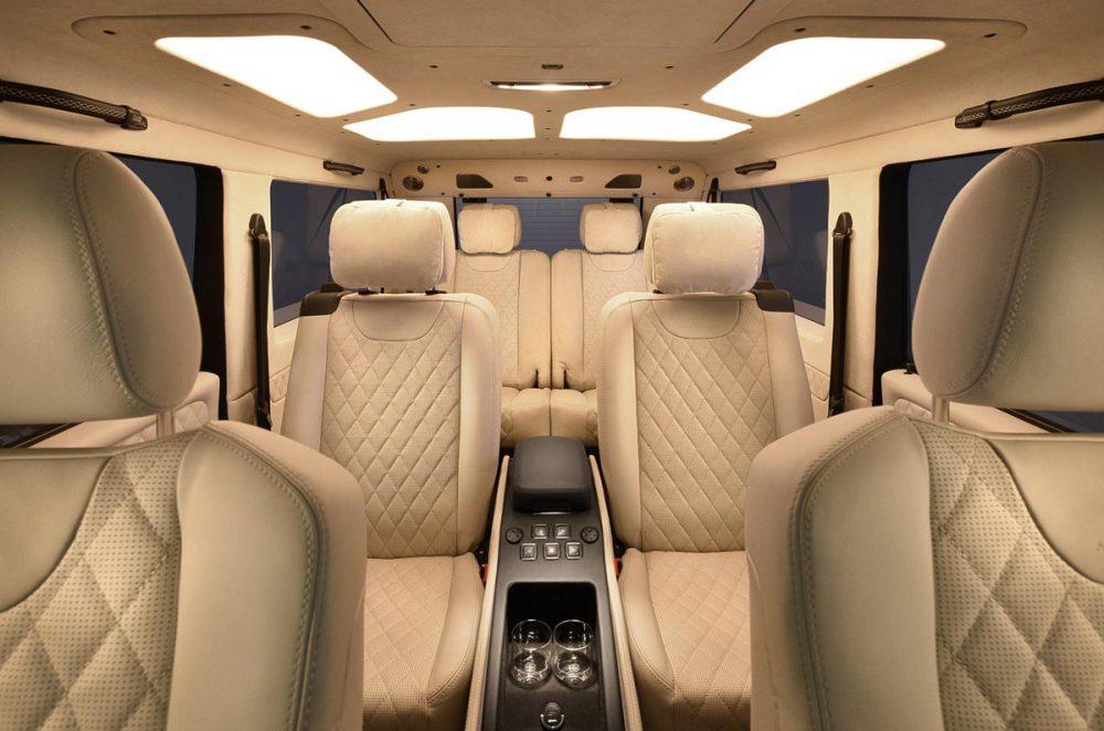 Mercedes G-Klasse Blick in den Fond