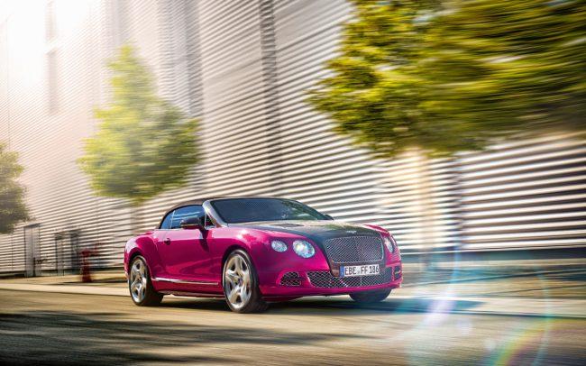Bentley Continental Fahrsituation