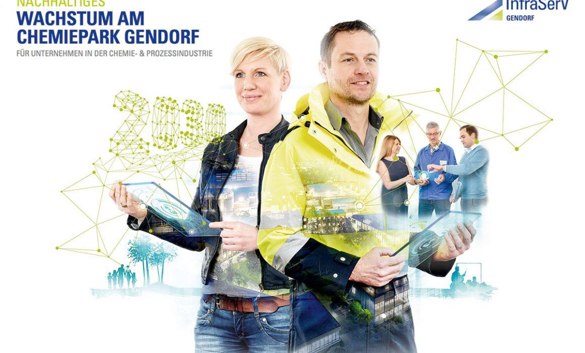 Konzeptaufnahme Composing Graphik Wachstum Chemiepark
