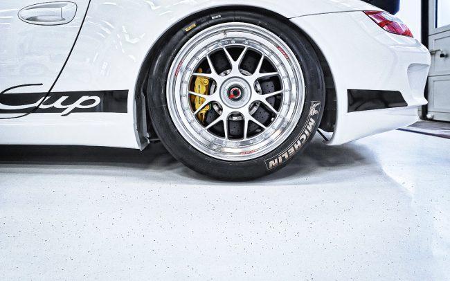 Porsche GT3 Seitenansicht Heck