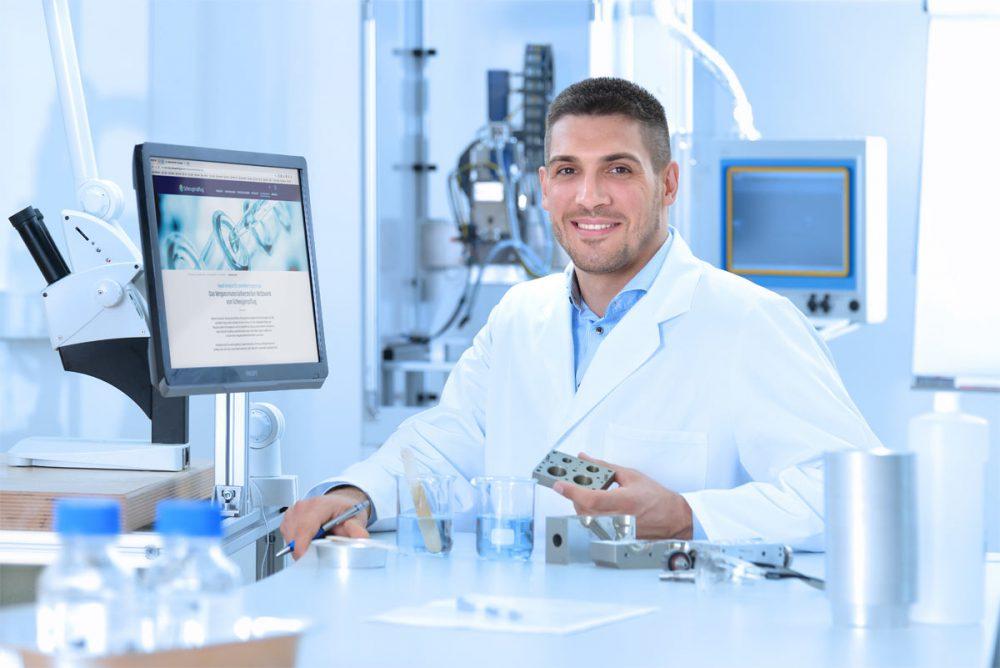 Forschung und Entwicklung Labormitarbeiter