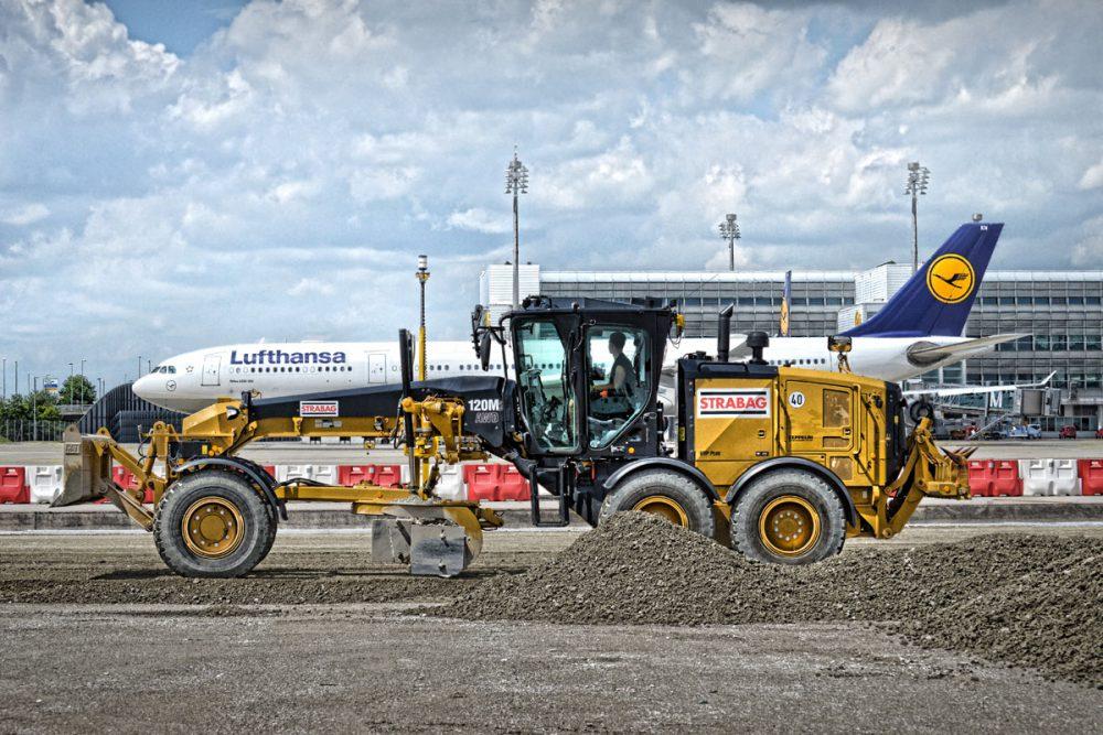 Neuaufbau einer Flugbetriebsflaeche am Flughafen Muenchen
